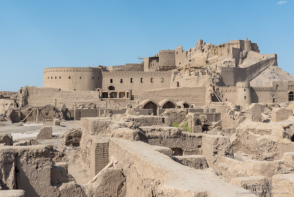 old town of Bam, Iran