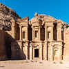 the monastery Ad Deir in Petra, UNESCO world heritage site, one of the world's seven wonders, JORDAN