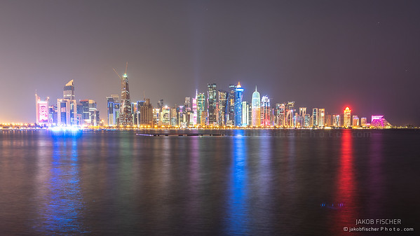 Skyline of Qatar