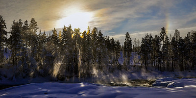 Storforsen Light - Sweden