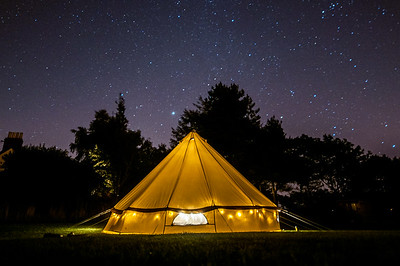 Bell Tent Nightsky - Scotland