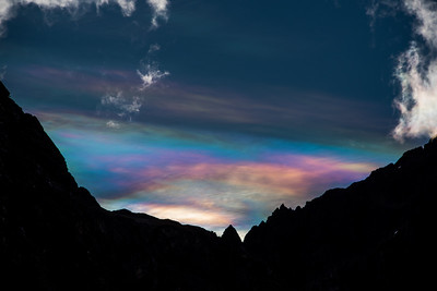 Nacreous Clouds - Peruvian Andes