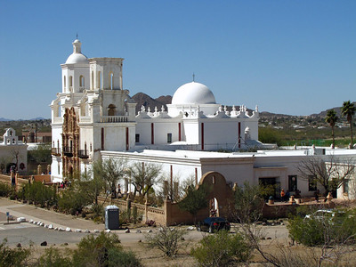 Mission San Xavier del Bac, near Tucson, Arizona (4)