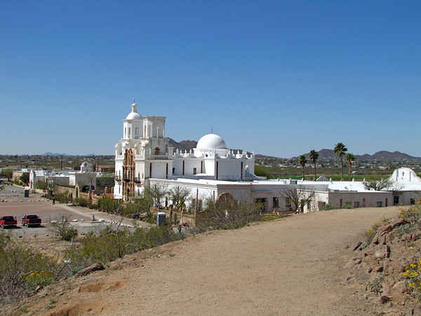 Mission San Xavier del Bac, near Tucson, Arizona (3)