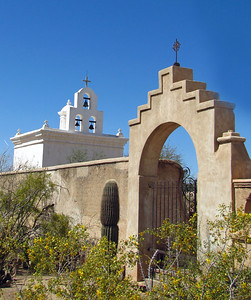Mission San Xavier del Bac, near Tucson, Arizona (6)