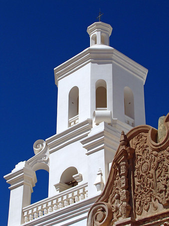 Mission San Xavier del Bac, near Tucson, Arizona (2)
