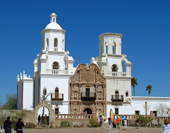 Mission San Xavier del Bac, near Tucson, Arizona (1)