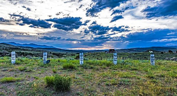 Montana; USA; Virginia City
