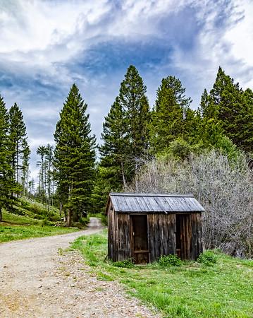 Montana; Garnet; Garnet Ghost Town