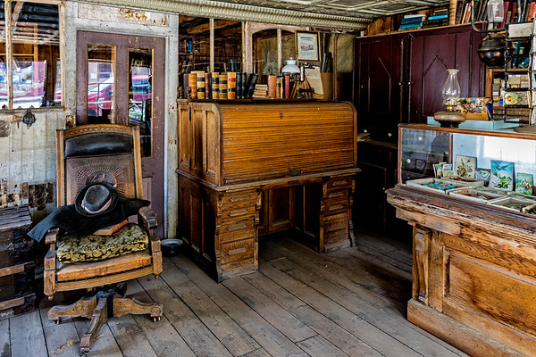 Montana; USA; Virginia City