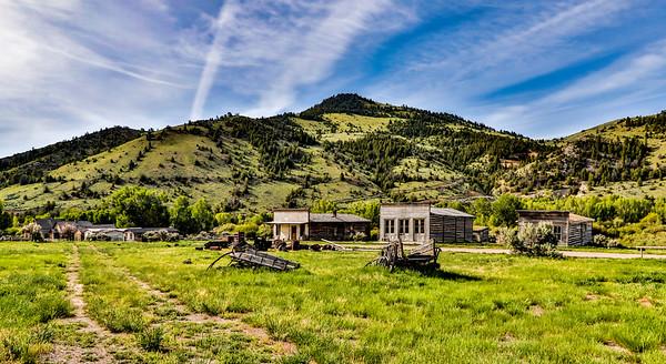 Montana; USA; Dillon; Bannack State Park