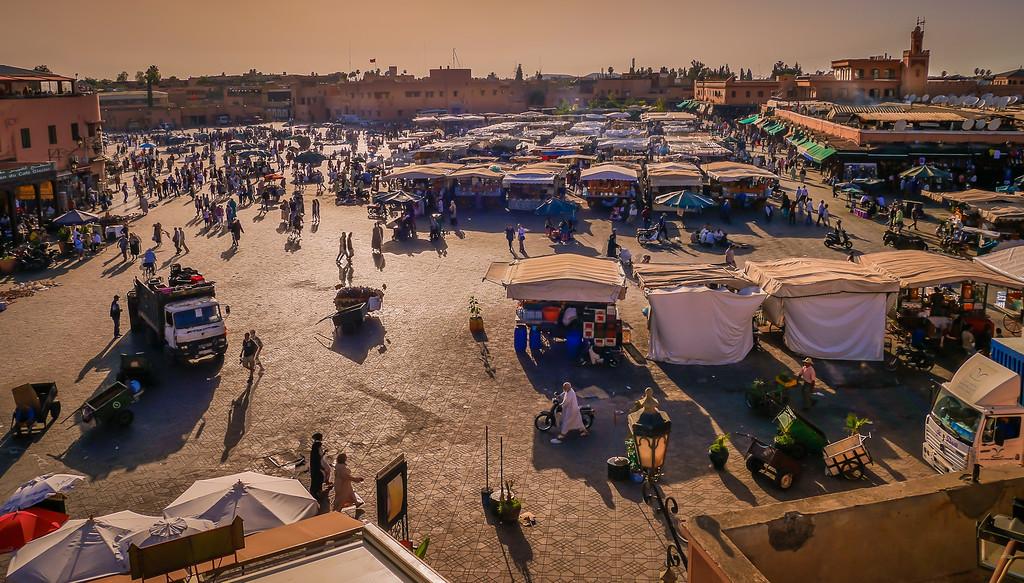 Jamaa el Fna  square, marrakech