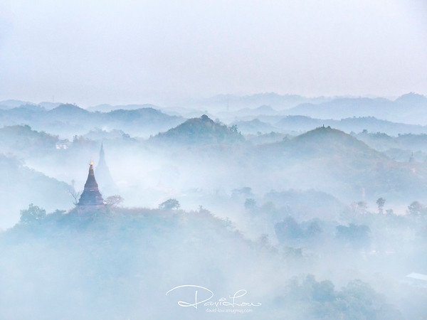 Sunrise at Shittaung Paya