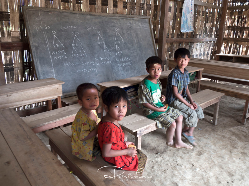 This school has some basic amenities such as tables and chairs.