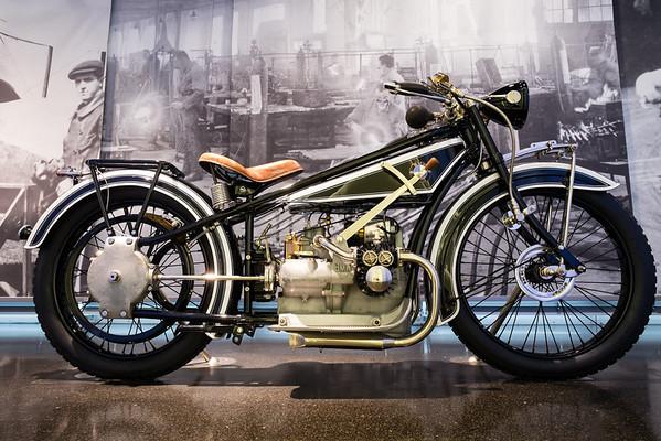BMW oldtimer motorbike, BMW Museum