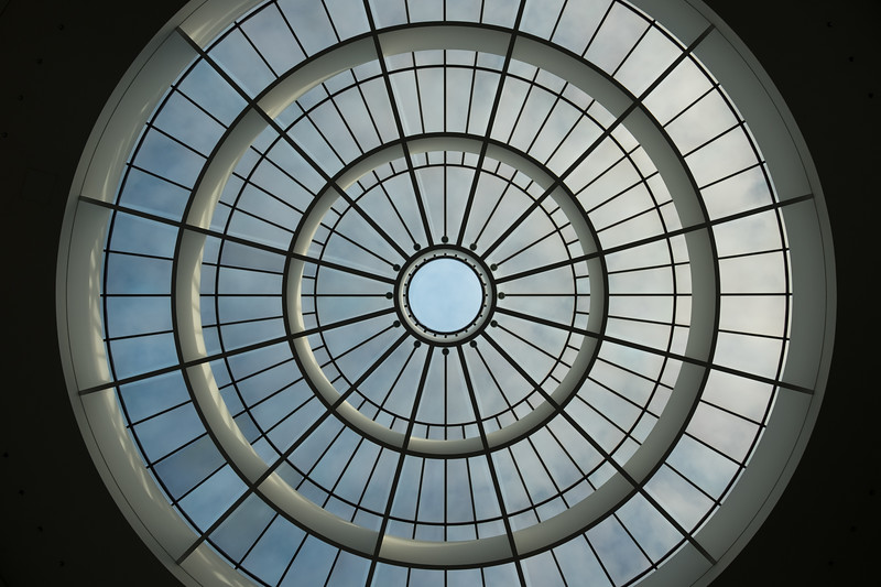 Skylight in Pinakothek der Moderne, Munich