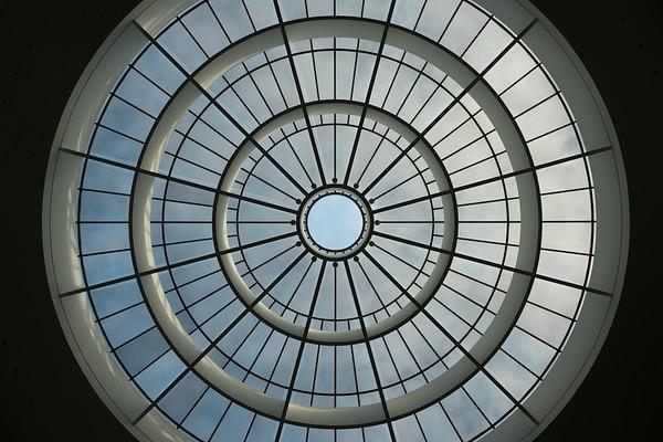Skylight in Pinakothek der Moderne, Munich