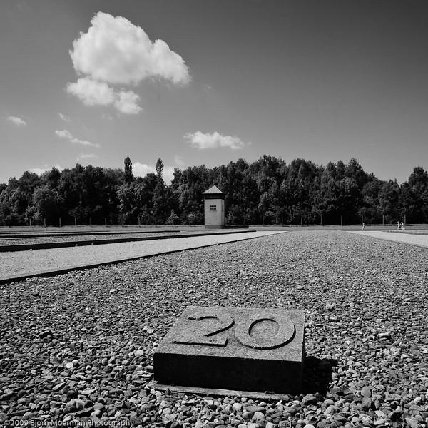 Dachau concentration camp near Munich