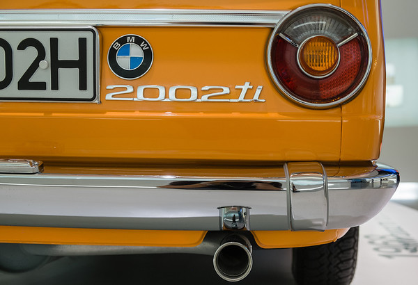 BMW 2002ti at BMW Museum