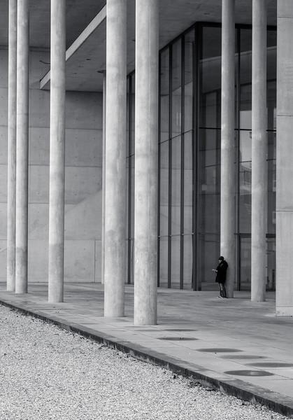 Lonely at Pinakothek der Moderne, Munich