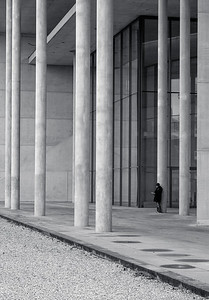 Lonely at Pinakothek der Moderne, Munich