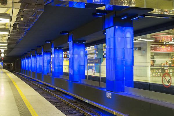 Muncher Freiheit U-bahn station