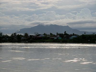 riverside Kampung near Kuching