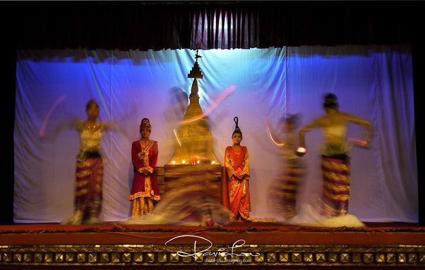 Cultural dance in Myanmar