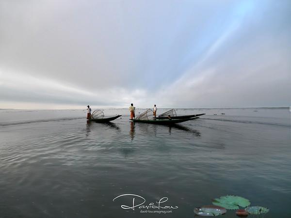 Intha rower - Inle Lake