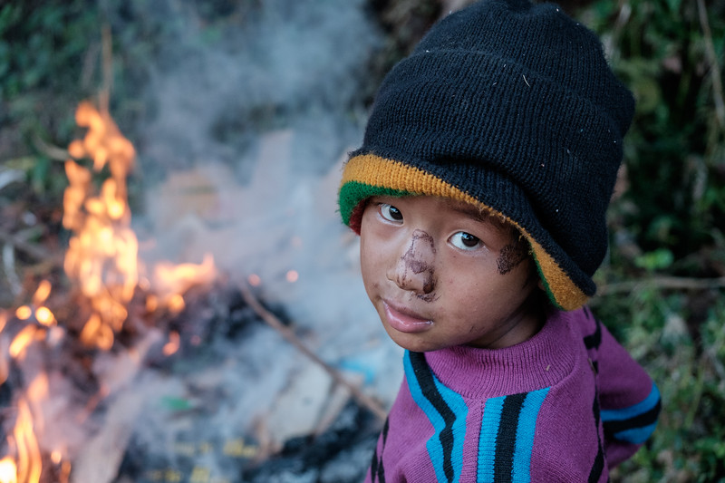 Playing with fire near Kalaw