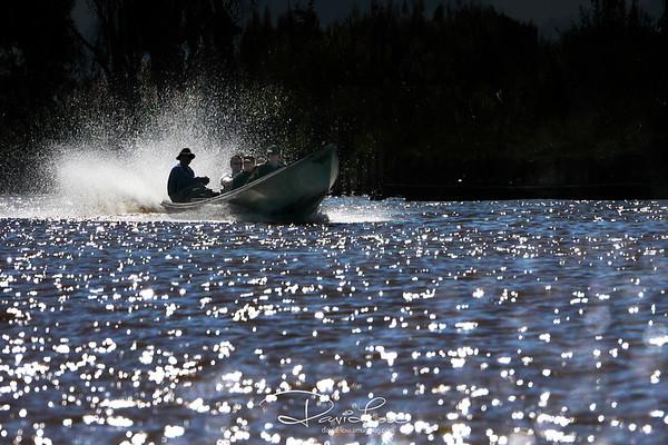 Travelling along Inhe Lake