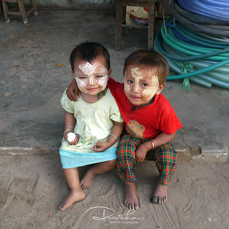 Myanmarese children