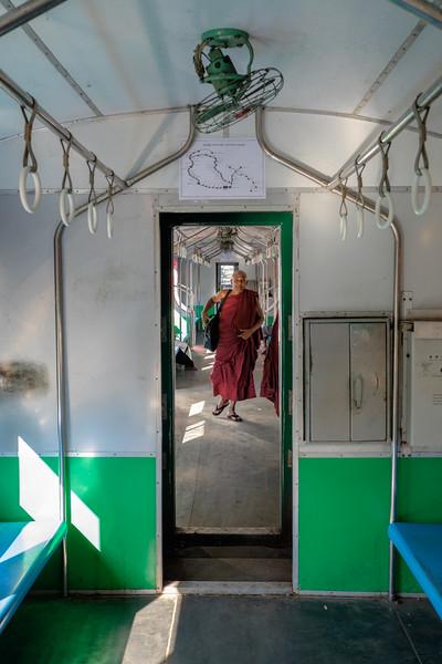 Circular train, Yangon
