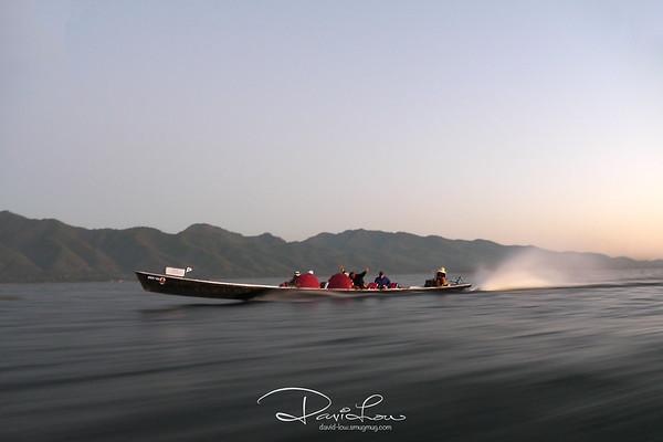 Travelling along Lake