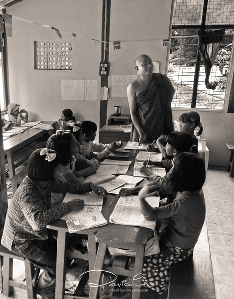 Education within the Mahagandayon Monastery