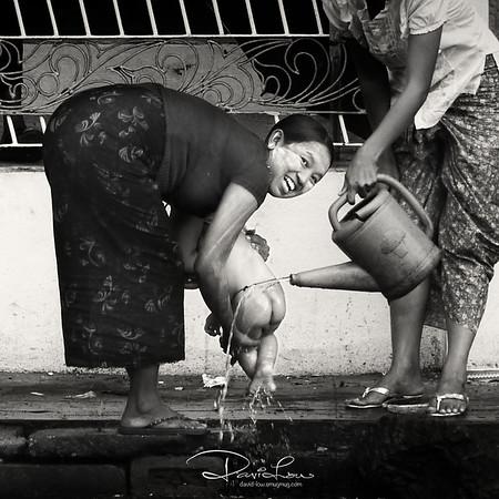 Street of Yangon