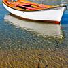 Mykonos Boat Anchored, Mykonos, Greece