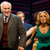 Dick Latessa & Kristen Chenoweth blowing kisses to the audience