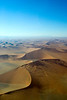 Namibia, Africa: Aerial View of Sossusvlei Sand Dunes
