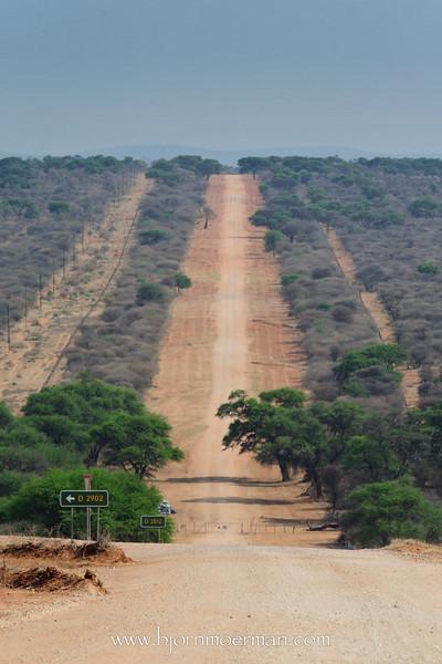 Road near Grootfontein