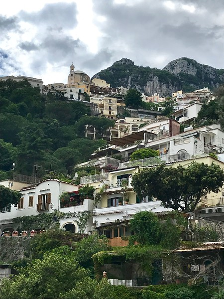 Positano, between the cliffs