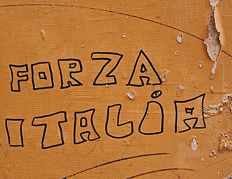 Forza Italia, Naples, Italy