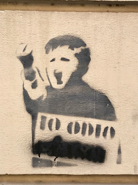 saw this same stencil work in Athens in 2017
