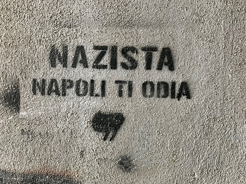 """Nazis,  Naples Hates You"""