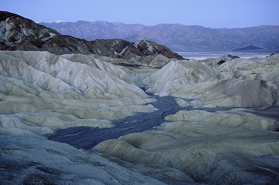 Zabriske Point Death Valley pre dawn