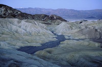 Zabriske Point Death Valley pre dawn