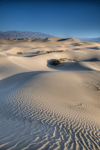 Stovepipe Wells Dunes Death Valley at dawn
