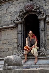 at Pashupatinath