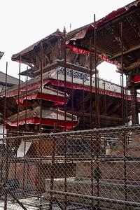 restoration work, Durbar Square, Kathmandu