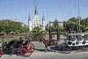 Cathedral of the St louis; French Quater; Jackson Square; Louisiana; New Orleans; USA